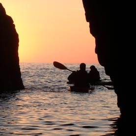 Éveil du soleil à la Cova d'en Gispert, 25-08-18