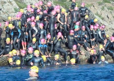 Suport curses de natació a mar obert