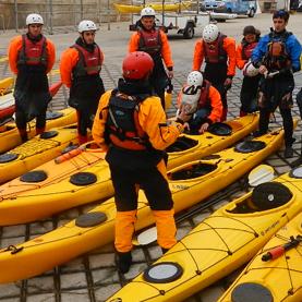 Kayak de mar técnico avanzado