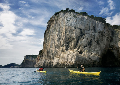 Kayaking at Montgrí Coastline