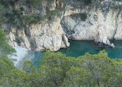 Afloraments d'alt interès geològic a Cala Pedrosa