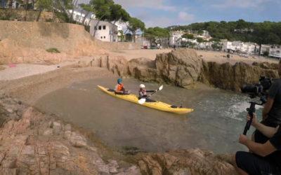 Col·laboració de TV3 amb Kayaking Costa Brava